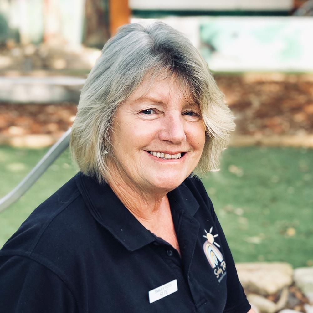 Sue Smiley Tots staff